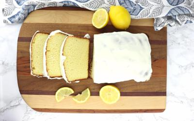 Lemon Cream Cheese Cake – Keto Pound Cake