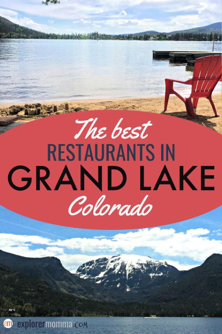 The best family-friendly restaurants in Grand Lake CO. From coffee shops to BBQ, you'll find Grand Lake restaurants to love. #familytravel #coloradovacations #grandlakeco