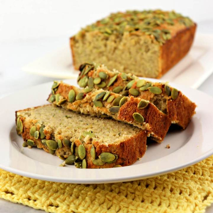 Delicious keto zucchini bread is so good and perfect for a low carb summer breakfast or snack.