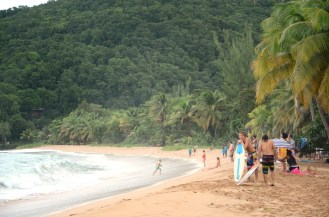 "The breathtaking beach ""la Plage de Grande Anse"". Definitely worth a visit!"