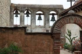 Bell Wall (two smaller bells are original)