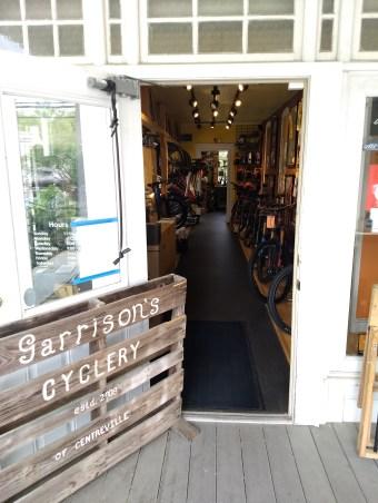 Garrison's entrance