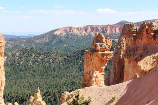 Balanced Rock at the Natural Bridge - Bryce Canyon National Park