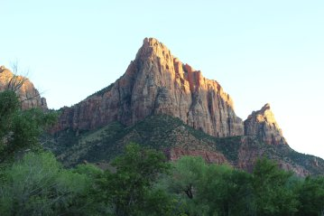 The Watchman area near the South Entrance - Zion National park