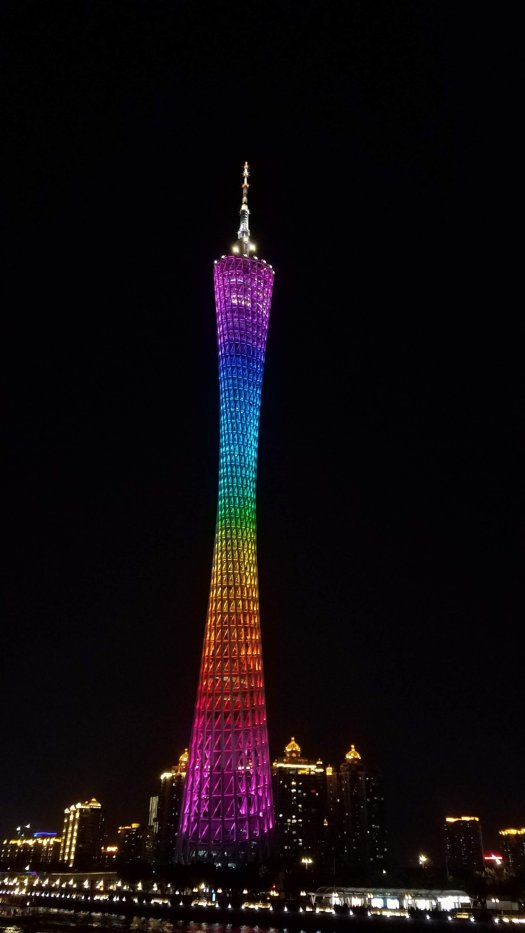 Canton Tower at night