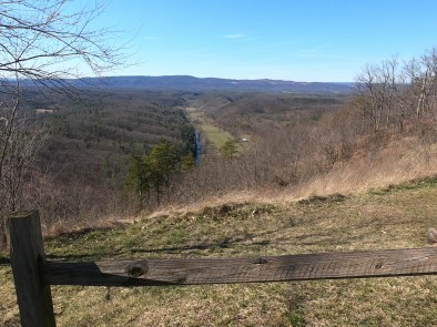 Log Roll Overlook - Green Ridge State Forest - 3-8-20