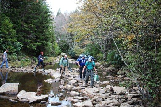 Crossing Red Creek - 10-10-2020