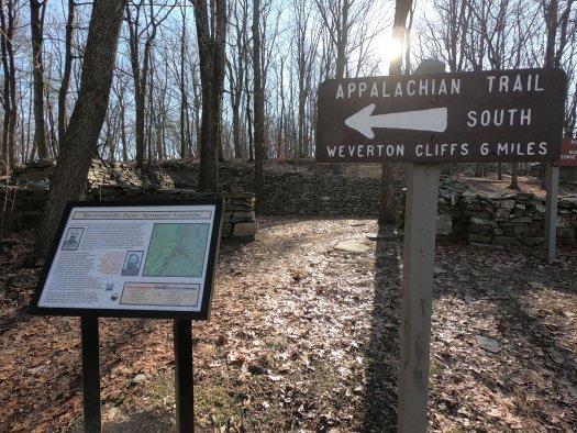 Civil War site along AT - 12-27-2020