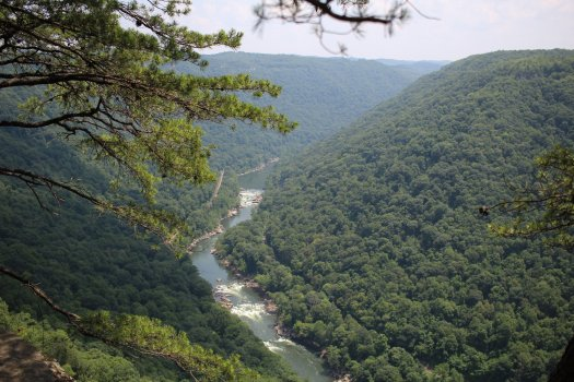 New River from Diamond Point - 07-24-21