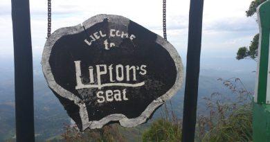 Lipton's Seat Name Board