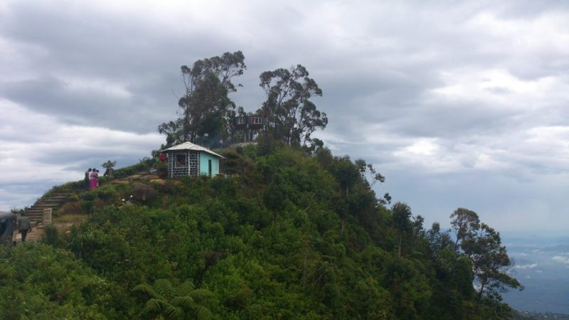 Built Observation Hut at the Summit of Lipton's Seat