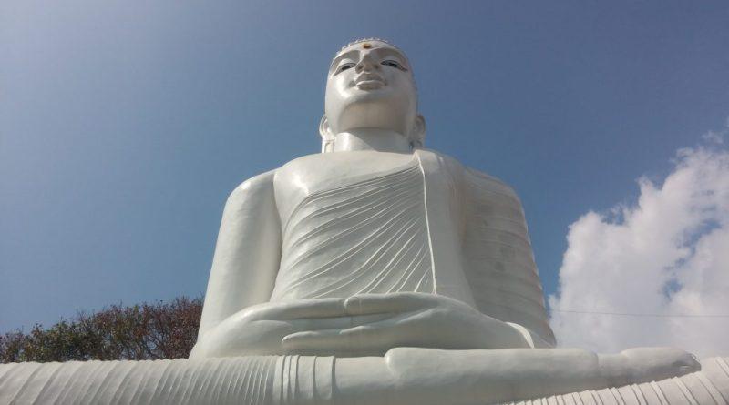 Second largest sitting buddha statue in Sri Lanka