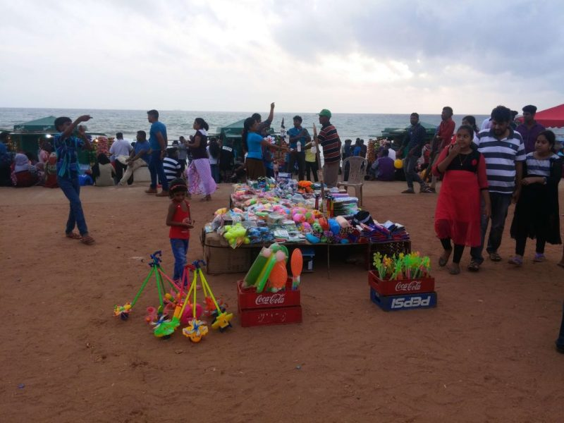 A toy shop at Galle Face