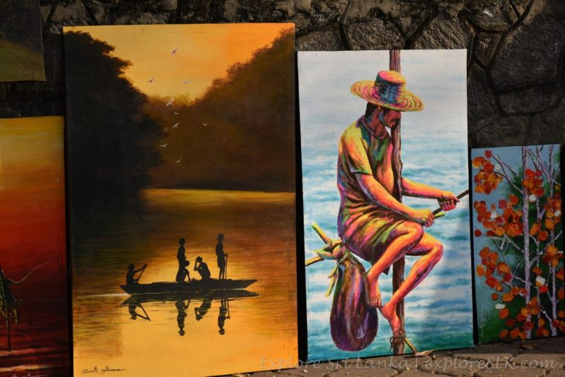 painting of fishermen