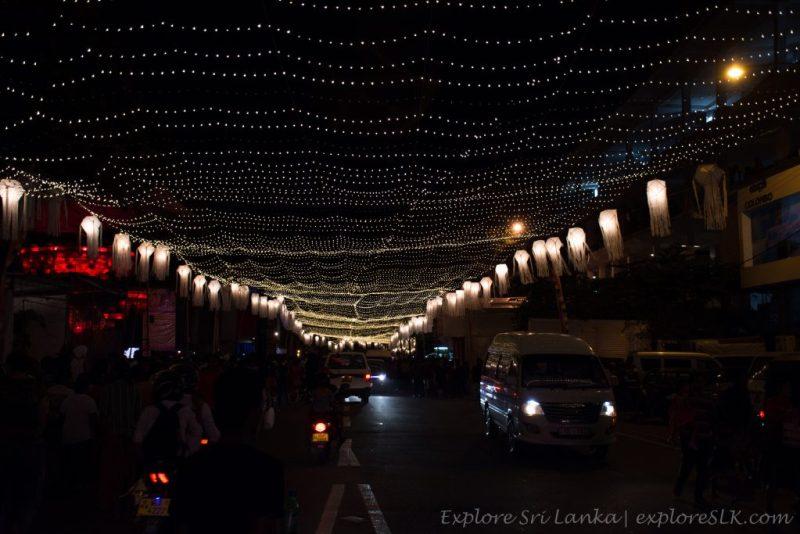 lit up streets