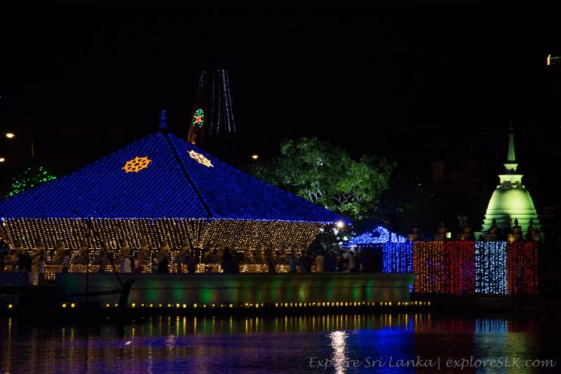 Vesak decorations