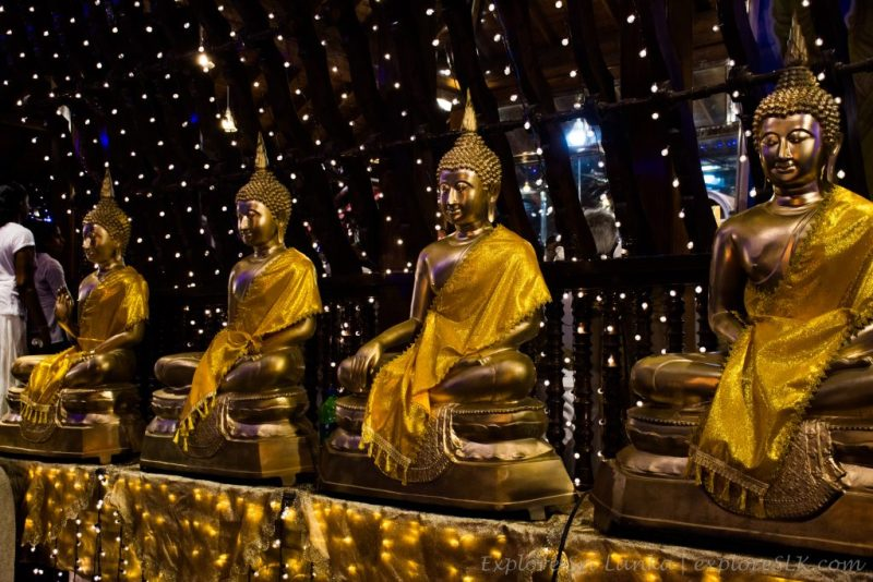 Statues of lord buddha