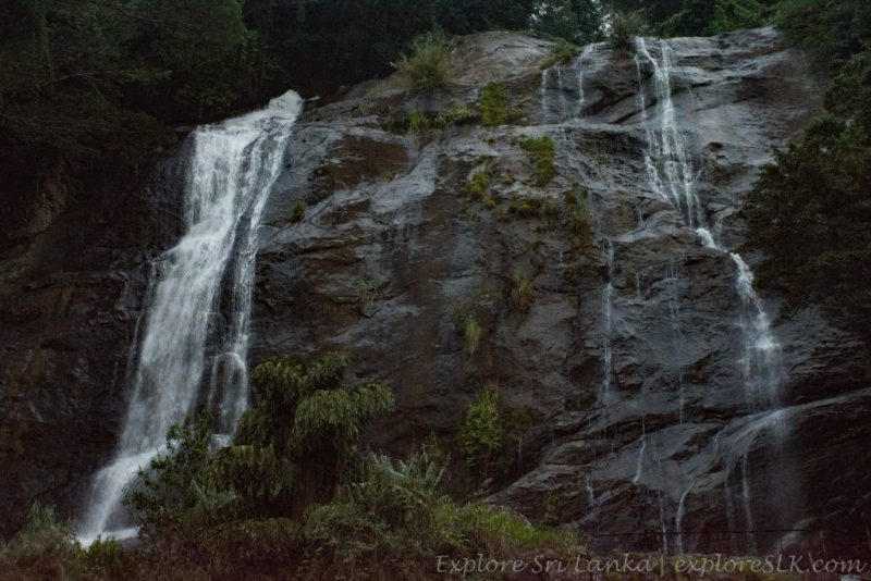 Hunas Falls and the mini waterfall