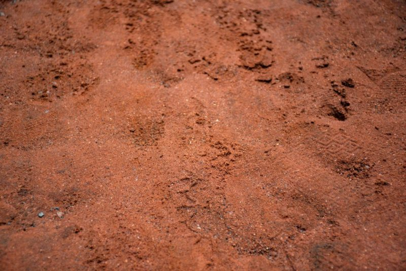 Red Soil at Ussangoda National Park