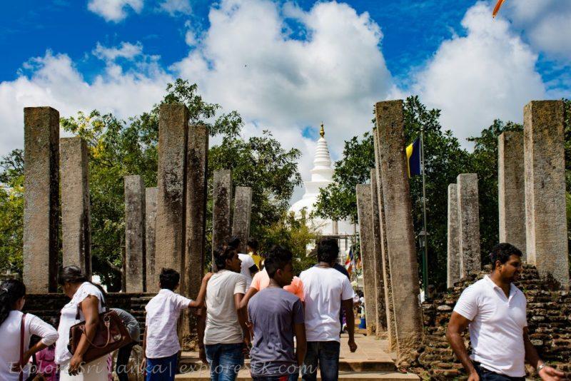 Entrance of Thuparamaya temple