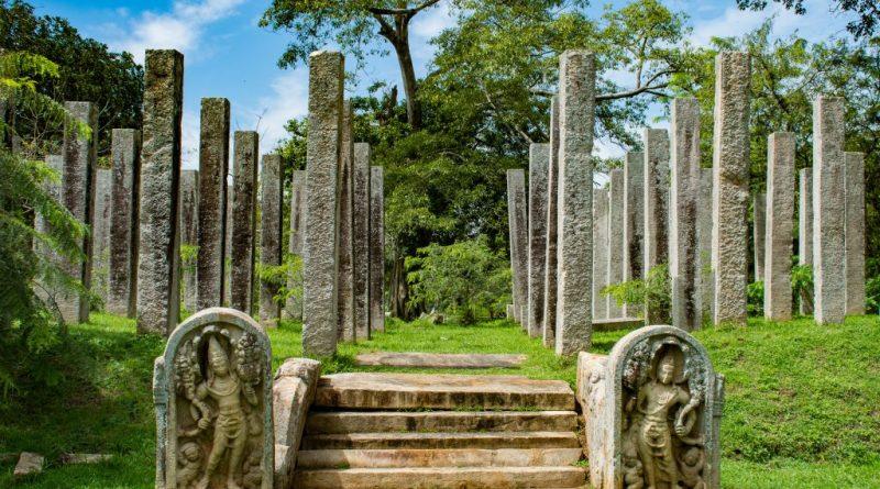 Stone Pillars at Thuparamaya