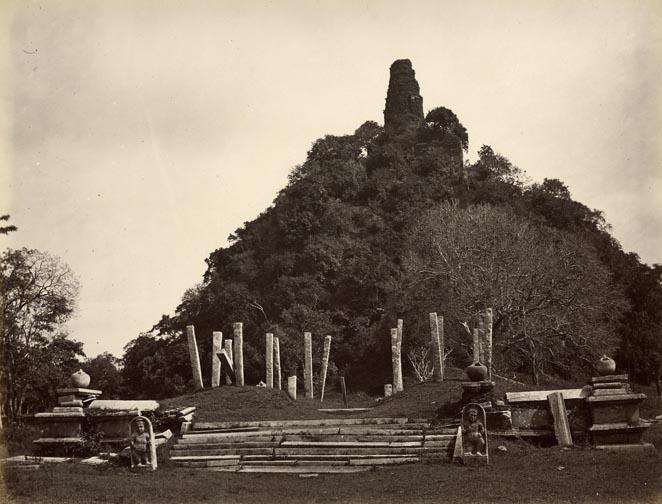 Jethawanaramaya stupa before renovation