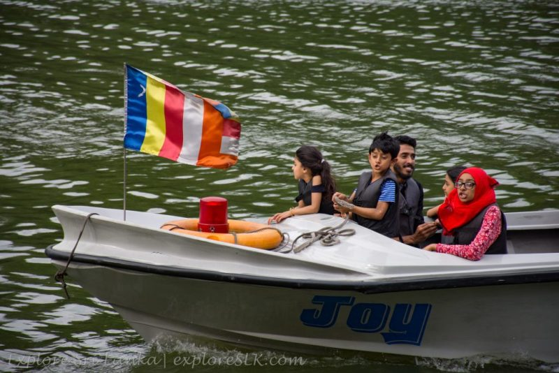 Boat Riding at Kandy Lake