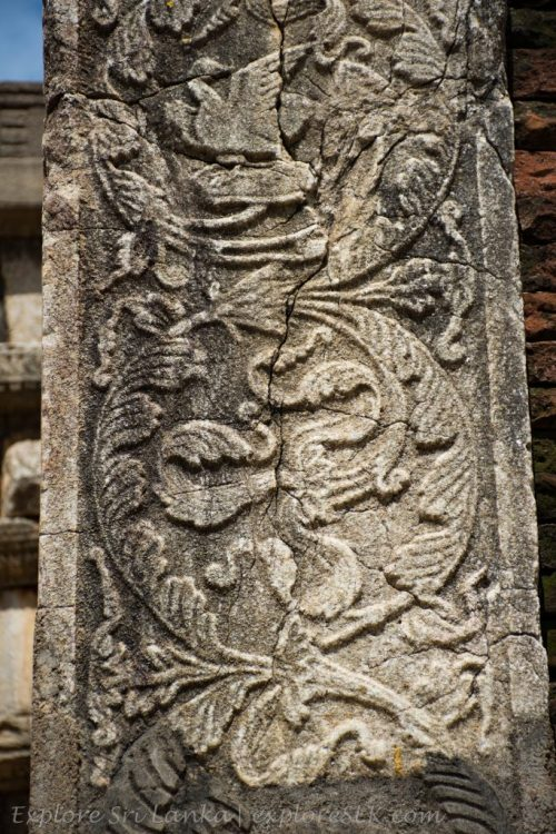 Stone Carvings at Abhayagiriya