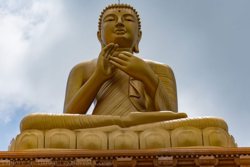 Omnipresent Buddha Statue of Manewatta Temple
