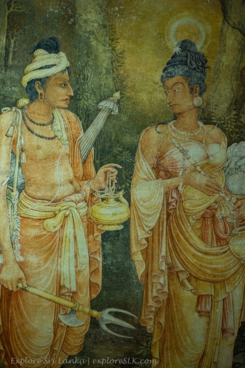 Ancient Murals at Kelaniya Temple