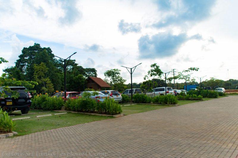 Car Park at Diyasaru Park