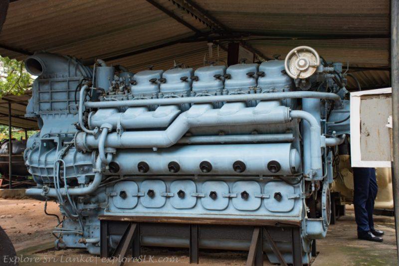 Engine of a Ship