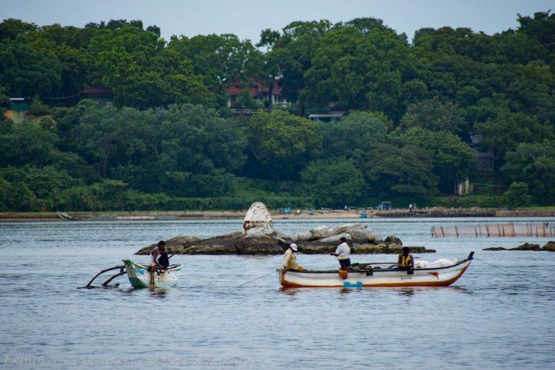 Fishermen in Trincomalee Harbour