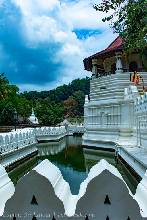 Water channels of Sri Dalada Maligawa