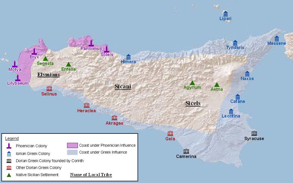 Sicily in antiquity