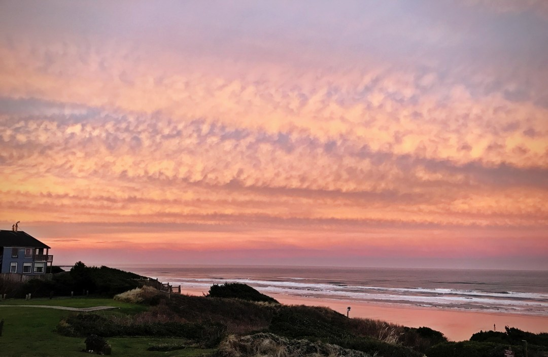 Newport Oregon Sunrise