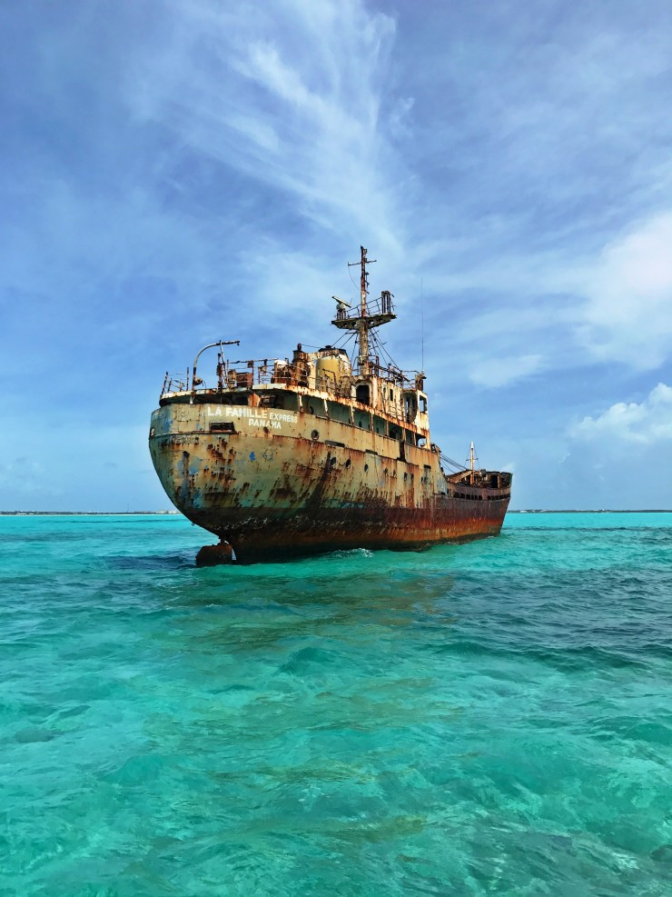 Turks and Caicos Shipwreck