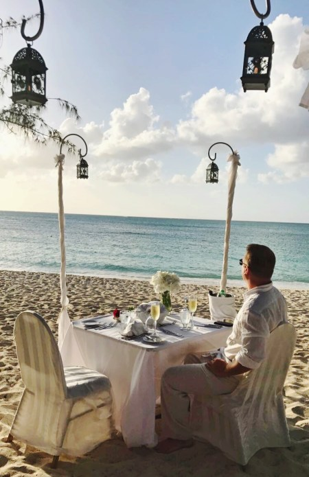Beaches Private Beach Dinner