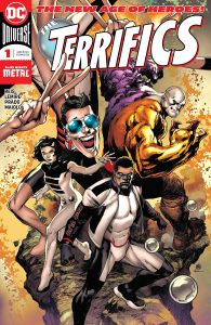 The Terrifics #1 Cover