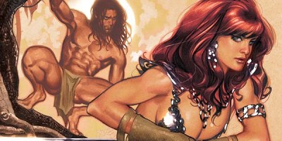 Red Sonja Tarzan #1 Cover