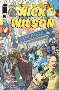 The Further Adventures Of Nick Wilson #5 Cover