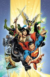 Justice League #1 Cover