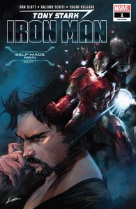 Tony Stark Iron Man #1 Cover