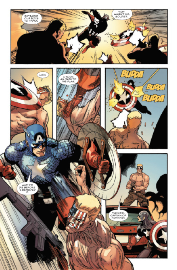 Captain America #1 Page 15