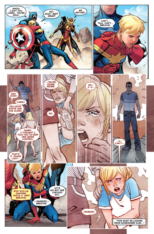 The Life Of Captain Marvel #1 Page 1