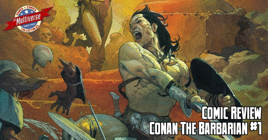 Conan The Barbarian 2019 #1 Banner