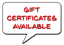 Products: Gift Certificates