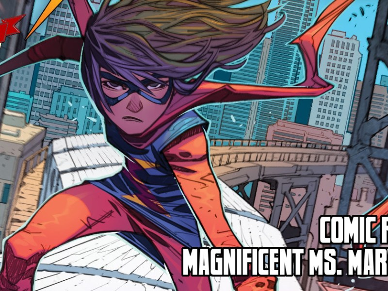 Comic Review – Magnificent Ms. Marvel #1