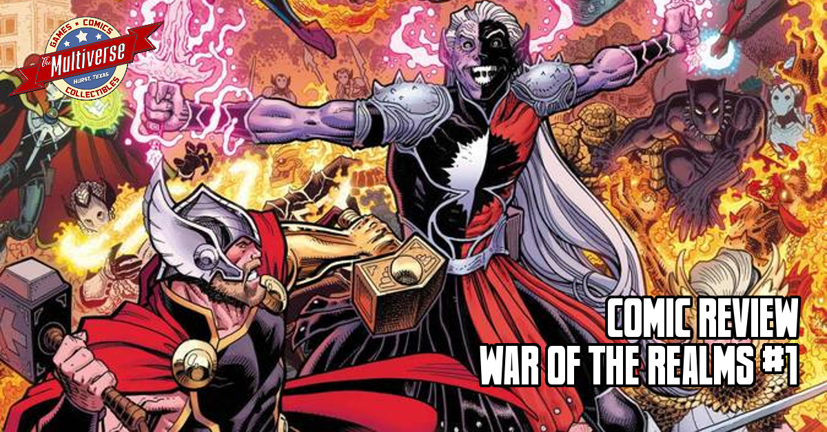 War Of The Realms #1 Banner