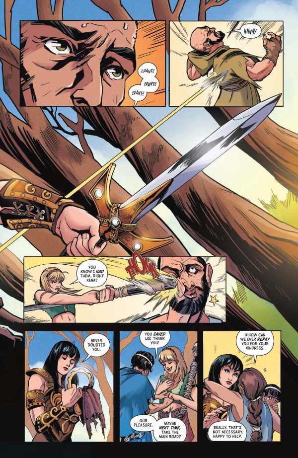 Xena Warrior Princess #1 Page 3